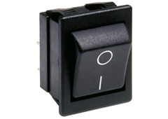 Arcoelectric C1353ALGNF High Inrush Rocker Switch, 16A 250VAC, Double Pole