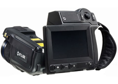 FLIR T650sc 25degree (incl. Wi-Fi) Thermal Imaging Camera with Wi-Fi, 30 Hz Image Frequency, 25degree FOV